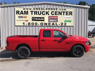 2018 Ram 1500 Quad Cab 4x4,  Pickup #18642 - photo 3