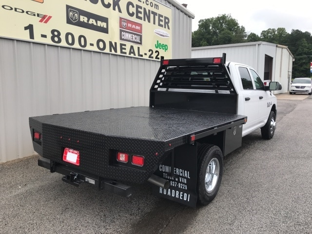 2018 Ram 3500 Crew Cab DRW 4x4,  Commercial Truck & Van Equipment Platform Body #18648 - photo 2