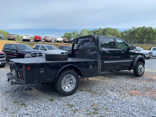 2018 Ram 4500 Crew Cab DRW 4x4,  Platform Body #18652 - photo 4