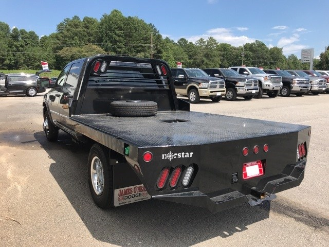 2018 Ram 3500 Crew Cab DRW 4x4,  Platform Body #18681 - photo 6