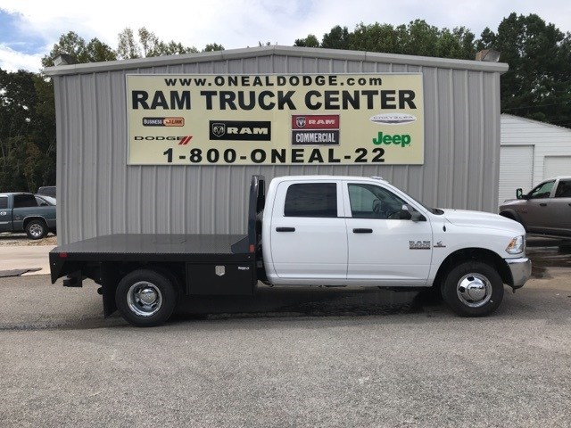 2018 Ram 3500 Crew Cab DRW 4x4,  CM Truck Beds Platform Body #18746 - photo 3