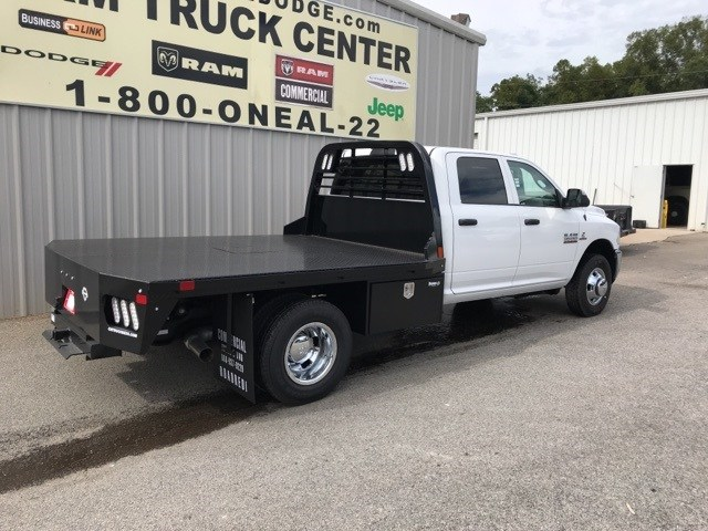 2018 Ram 3500 Crew Cab DRW 4x4,  CM Truck Beds Platform Body #18746 - photo 2