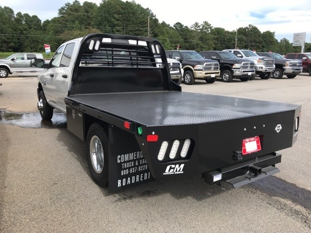 2018 Ram 3500 Crew Cab DRW 4x4,  CM Truck Beds Platform Body #18746 - photo 6