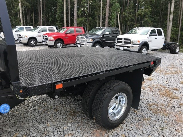 2018 Ram 3500 Crew Cab DRW 4x4,  Commercial Truck & Van Equipment Platform Body #18765 - photo 8