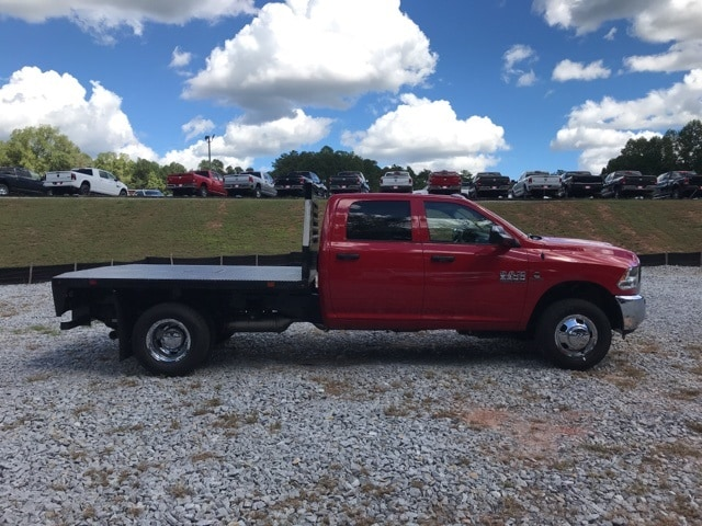 2018 Ram 3500 Crew Cab DRW 4x4,  Commercial Truck & Van Equipment Platform Body #18770 - photo 3