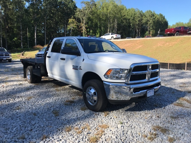 2018 Ram 3500 Crew Cab DRW 4x4,  Commercial Truck & Van Equipment Platform Body #18771 - photo 3