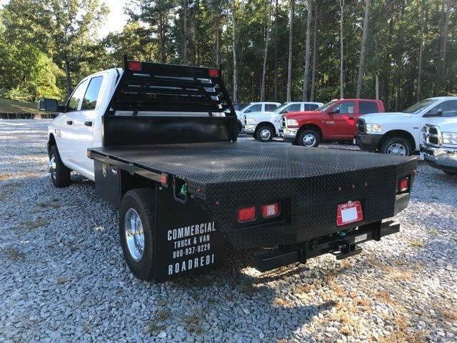 2018 Ram 3500 Crew Cab DRW 4x4,  Commercial Truck & Van Equipment Platform Body #18771 - photo 2