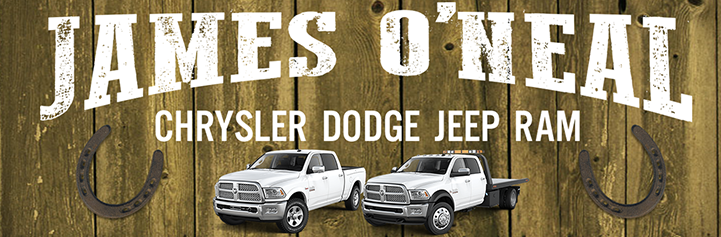 James O'Neal Chrysler Dodge Jeep logo