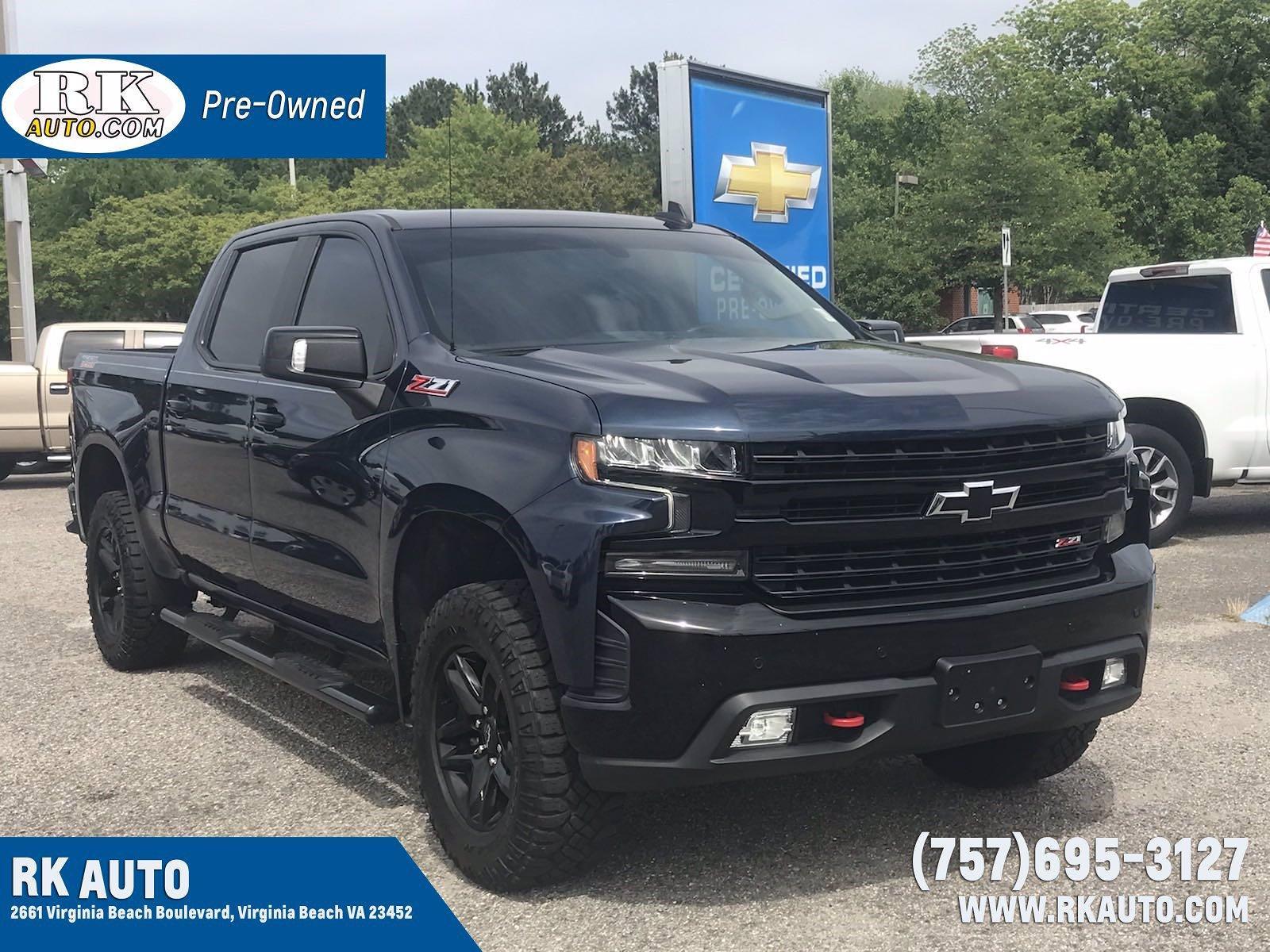 2019 Chevrolet Silverado 1500 Crew Cab 4x4, Pickup #16609P - photo 1