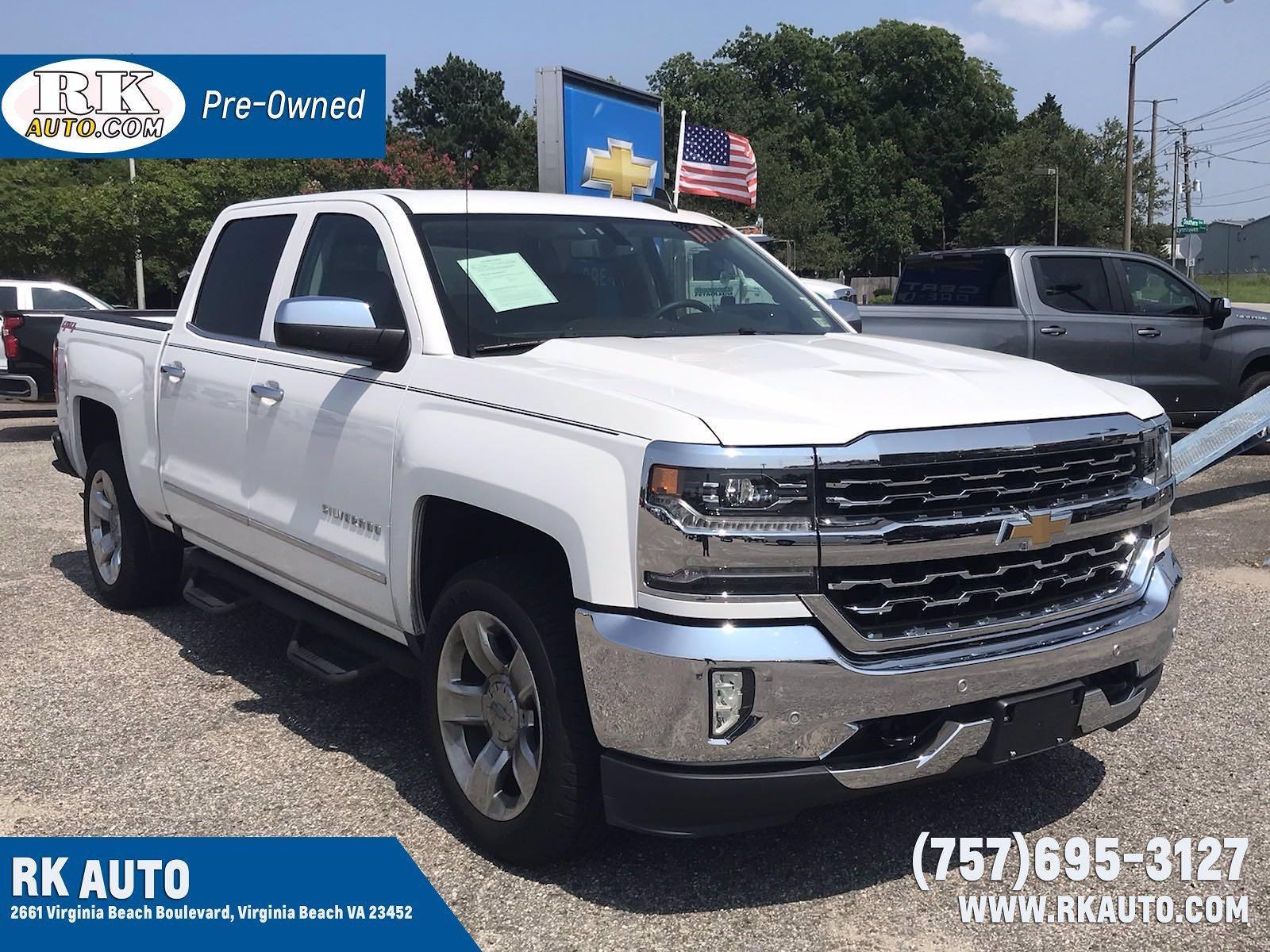 2018 Chevrolet Silverado 1500 Crew Cab 4x4, Pickup #16636P - photo 1