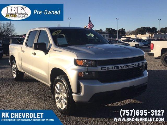 2020 Chevrolet Silverado 1500 Crew Cab 4x4, Pickup #215338A - photo 1