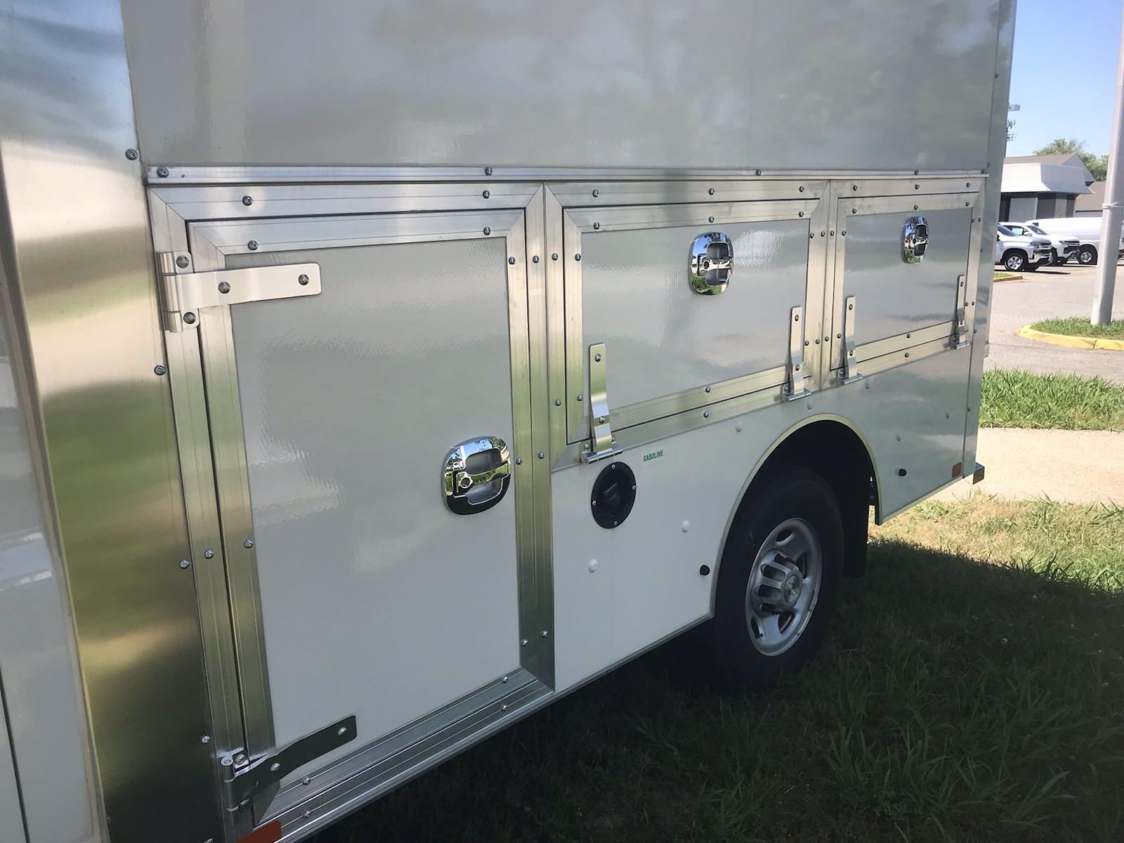 2021 Chevrolet Express 3500 4x2, Dejana DuraCube Max Service Utility Van #216760 - photo 14