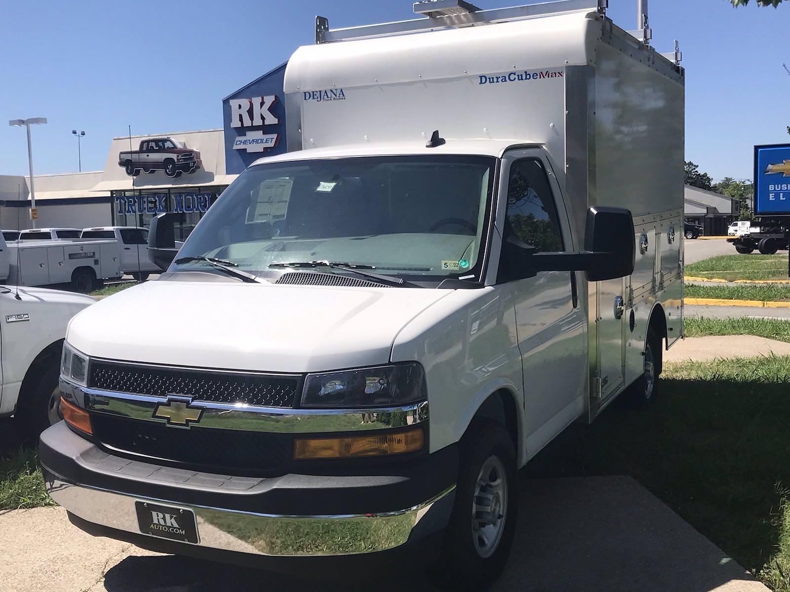 2021 Chevrolet Express 3500 4x2, Dejana DuraCube Max Service Utility Van #216760 - photo 4