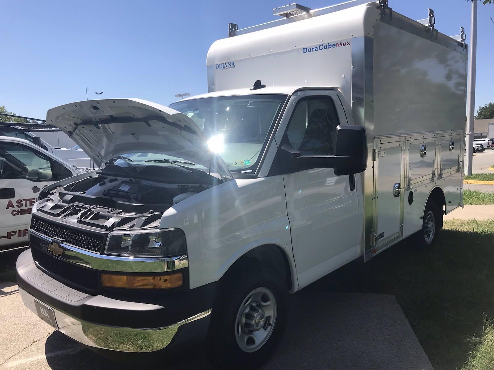 2021 Chevrolet Express 3500 4x2, Dejana DuraCube Max Service Utility Van #216760 - photo 33