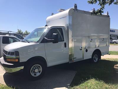 2021 Chevrolet Express 3500 4x2, Dejana DuraCube Max Service Utility Van #216760 - photo 5