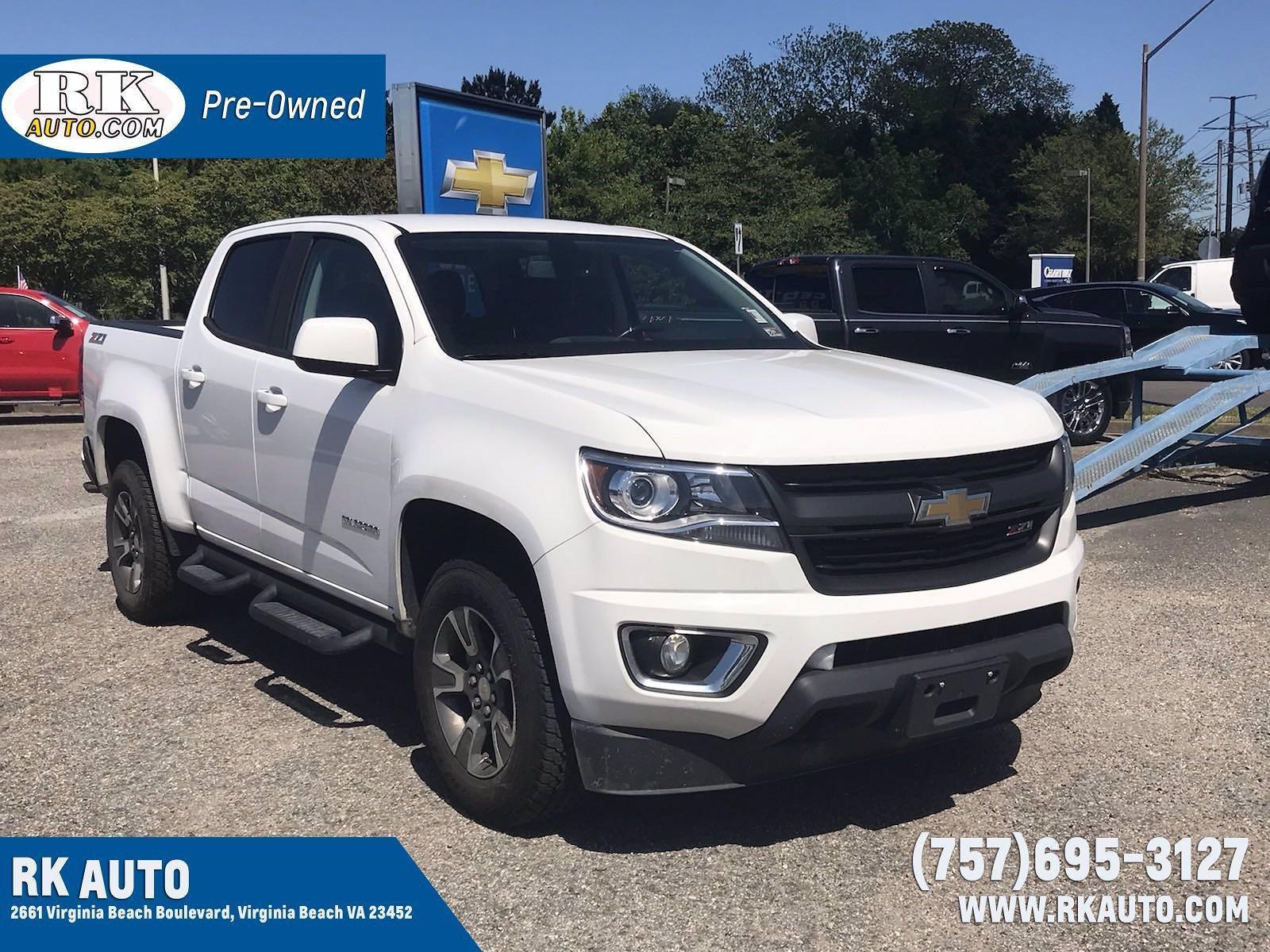 2020 Chevrolet Colorado Crew Cab 4x4, Pickup #216962A - photo 1