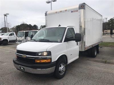 2020 Express 3500 4x2, Morgan Parcel Aluminum Cutaway Van #CN02696 - photo 4