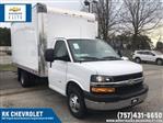 2020 Express 3500 4x2, Morgan Parcel Aluminum Cutaway Van #CN02696 - photo 1