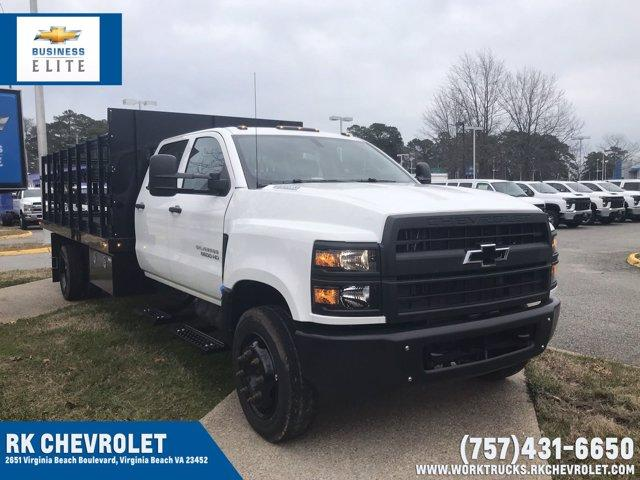 2020 Chevrolet Silverado 5500 Crew Cab DRW 4x2, Reading Platform Body #CN05741 - photo 1