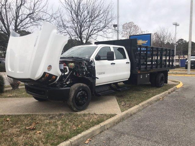 2020 Chevrolet Silverado 5500 Crew Cab DRW 4x2, Reading Platform Body #CN05741 - photo 47