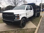 2020 Chevrolet Silverado 5500 Crew Cab DRW 4x2, Reading Platform Body #CN05741 - photo 4