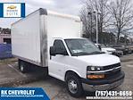 2020 Chevrolet Express 3500 DRW 4x2, Morgan Parcel Aluminum Cutaway Van #CN06012 - photo 1