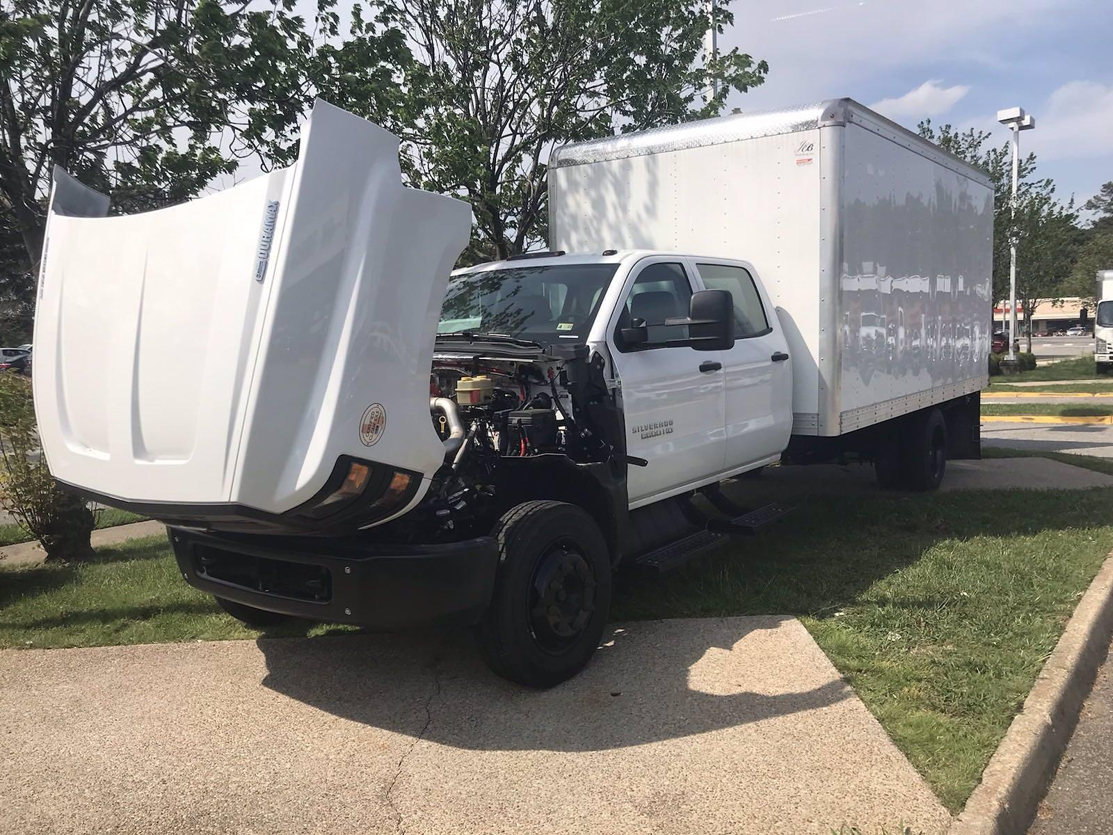 2020 Chevrolet Silverado 5500 Crew Cab DRW 4x2, J&B Truck Body Cutaway Van #CN06861 - photo 45