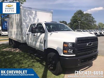 2020 Chevrolet Silverado 5500 Crew Cab DRW 4x2, J&B Truck Body Cutaway Van #CN06861 - photo 1
