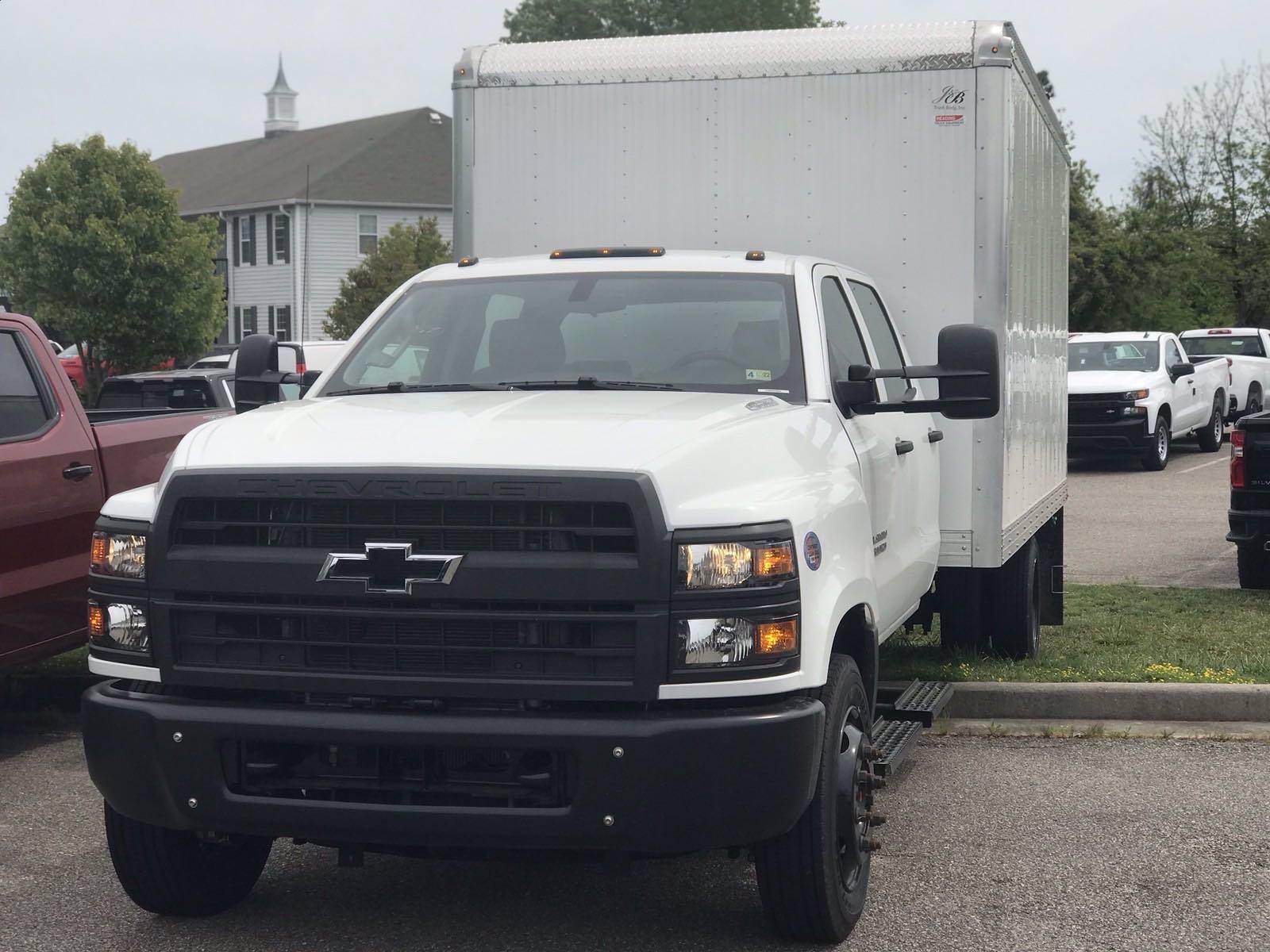 2020 Chevrolet Silverado 5500 Crew Cab DRW 4x2, J&B Truck Body Cutaway Van #CN06864 - photo 13