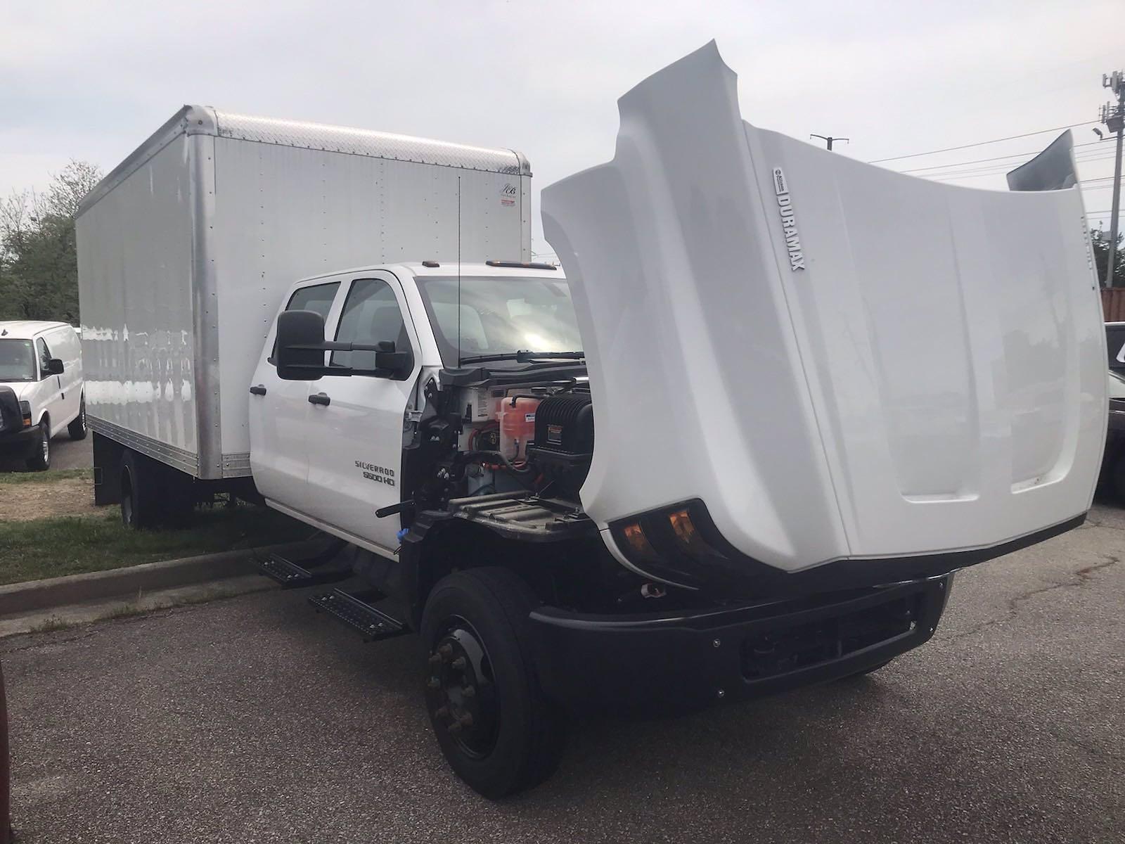 2020 Chevrolet Silverado 5500 Crew Cab DRW 4x2, J&B Truck Body Cutaway Van #CN06864 - photo 45