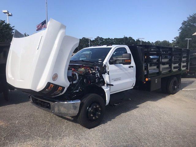 2020 Silverado 4500 Regular Cab DRW 4x2,  Quality Truck Bodies & Repair Stake Bed #CN15179 - photo 38