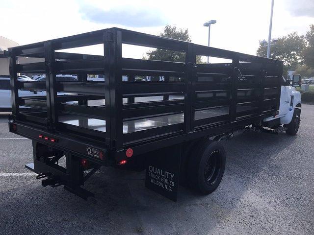 2020 Silverado 4500 Regular Cab DRW 4x2,  Quality Truck Bodies & Repair Stake Bed #CN15179 - photo 2