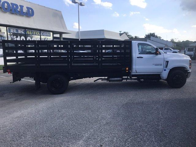 2020 Silverado 4500 Regular Cab DRW 4x2,  Quality Truck Bodies & Repair Stake Bed #CN15179 - photo 9