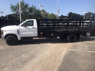 2020 Silverado 4500 Regular Cab DRW 4x2,  Quality Truck Bodies & Repair Stake Bed #CN15179 - photo 7