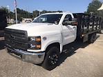 2020 Silverado 4500 Regular Cab DRW 4x2,  Quality Truck Bodies & Repair Stake Bed #CN15179 - photo 6