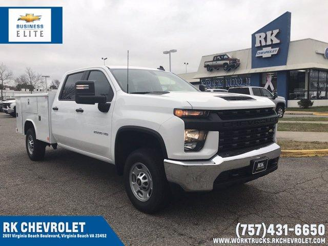 2021 Chevrolet Silverado 2500 Crew Cab 4x2, Reading Classic II Steel Service Body #CN15679 - photo 1