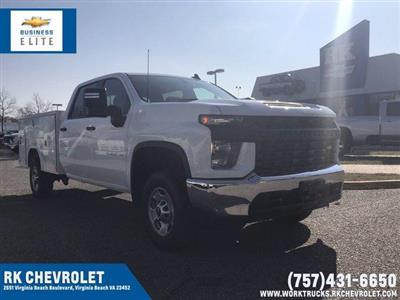 2021 Chevrolet Silverado 2500 Crew Cab 4x2, Reading SL Service Body #CN15788 - photo 1