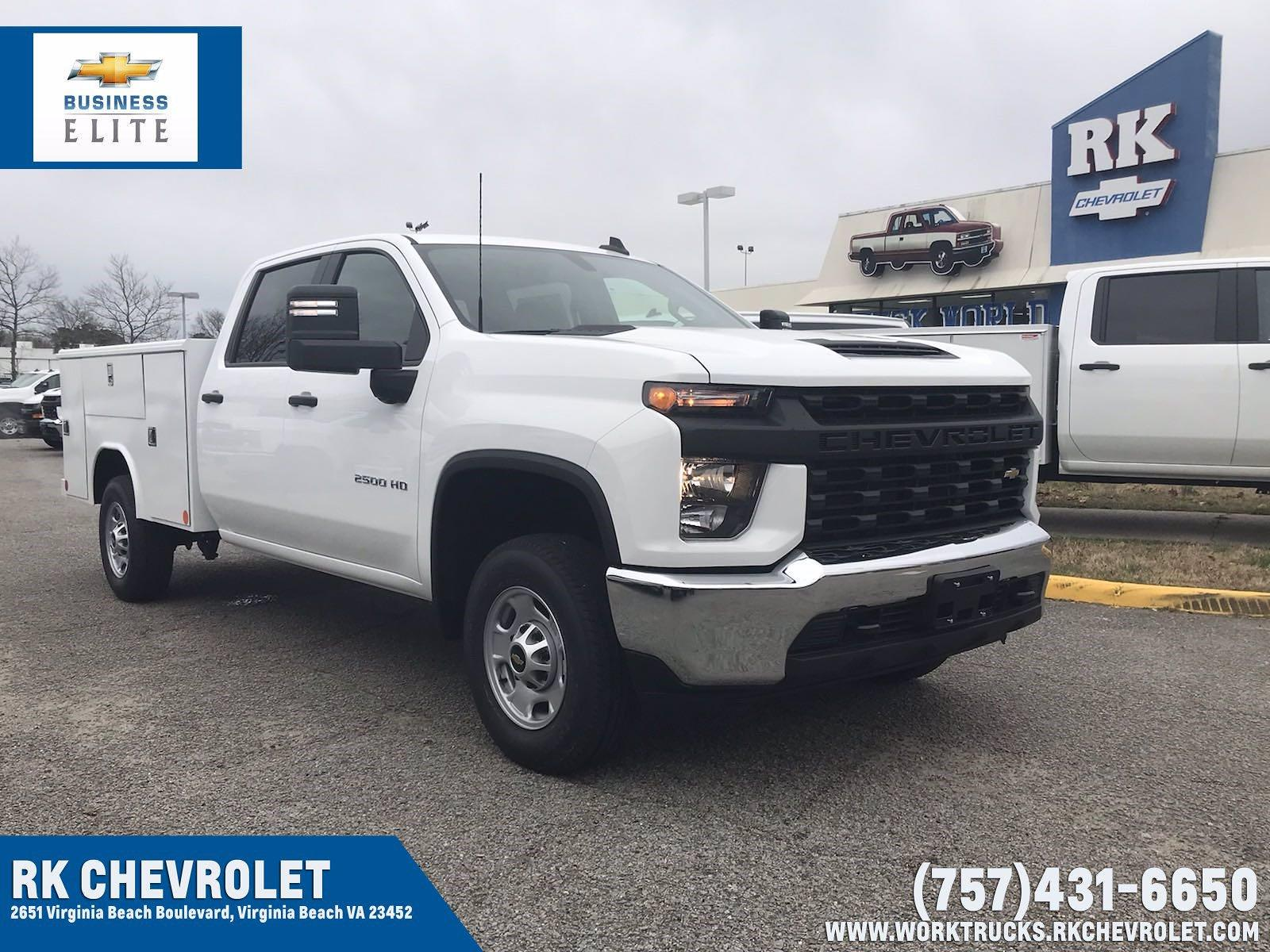 2021 Chevrolet Silverado 2500 Crew Cab 4x2, Reading Service Body #CN15837 - photo 1