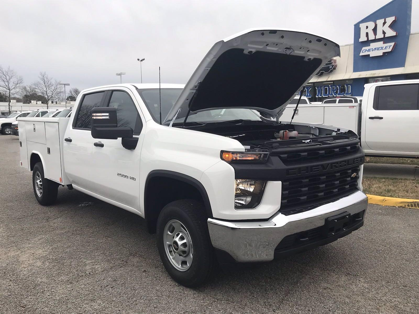2021 Chevrolet Silverado 2500 Crew Cab 4x2, Reading Classic II Steel Service Body #CN15837 - photo 46