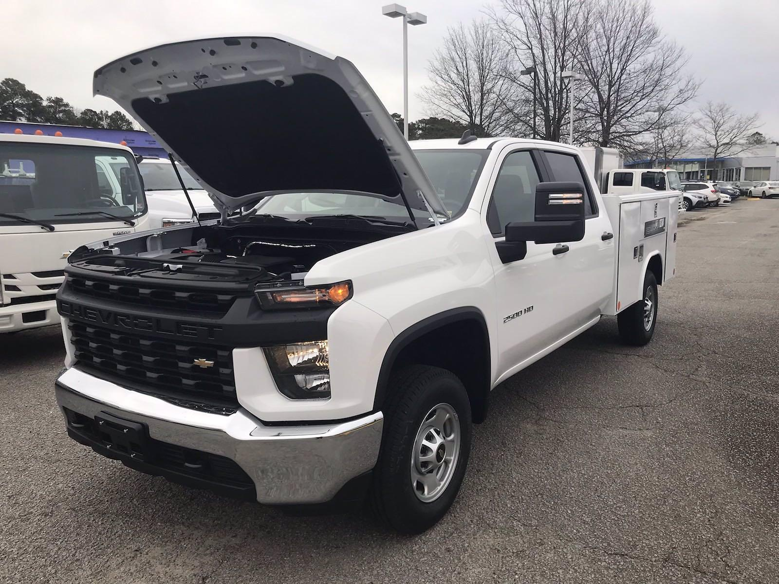 2021 Chevrolet Silverado 2500 Crew Cab 4x2, Reading Classic II Steel Service Body #CN15837 - photo 47