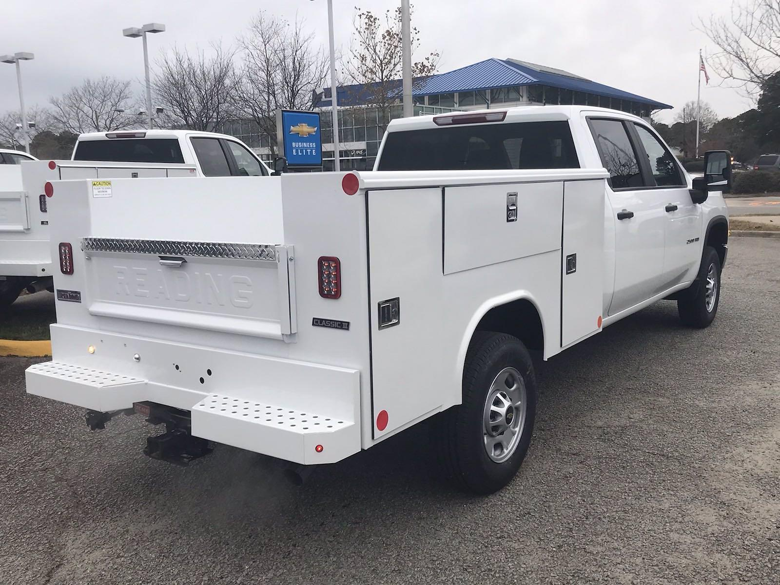 2021 Chevrolet Silverado 2500 Crew Cab 4x2, Reading Classic II Steel Service Body #CN15837 - photo 2