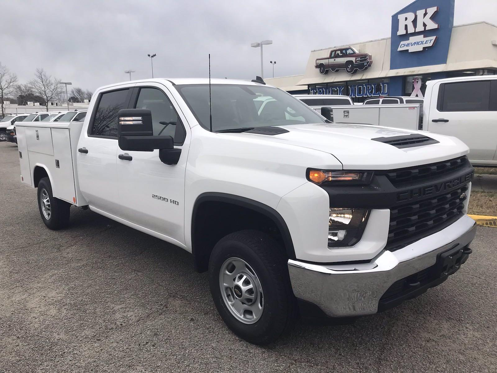 2021 Chevrolet Silverado 2500 Crew Cab 4x2, Reading Classic II Steel Service Body #CN15837 - photo 8