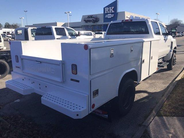 2021 Chevrolet Silverado 5500 Crew Cab DRW 4x4, Reading Classic II Steel Service Body #CN16080 - photo 4