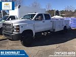 2021 Chevrolet Silverado 5500 Crew Cab DRW 4x4, Reading Classic II Steel Service Body #CN16080 - photo 1