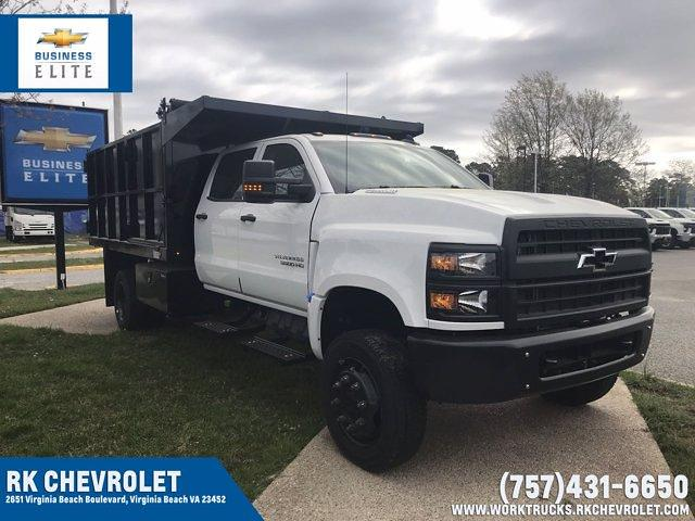 2021 Chevrolet Silverado 5500 Crew Cab DRW 4x4, Johnie Gregory Truck Bodies, Inc. Johnie Gregory Truck Bodies Default Landscape Dump #CN16081 - photo 1