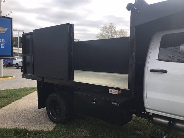 2021 Chevrolet Silverado 5500 Crew Cab DRW 4x4, Johnie Gregory Truck Bodies, Inc. Johnie Gregory Truck Bodies Default Landscape Dump #CN16081 - photo 18