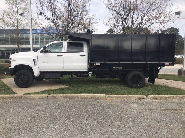 2021 Chevrolet Silverado 5500 Crew Cab DRW 4x4, Johnie Gregory Truck Bodies, Inc. Johnie Gregory Truck Bodies Default Landscape Dump #CN16081 - photo 5