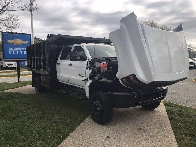 2021 Chevrolet Silverado 5500 Crew Cab DRW 4x4, Johnie Gregory Truck Bodies, Inc. Johnie Gregory Truck Bodies Default Landscape Dump #CN16081 - photo 43