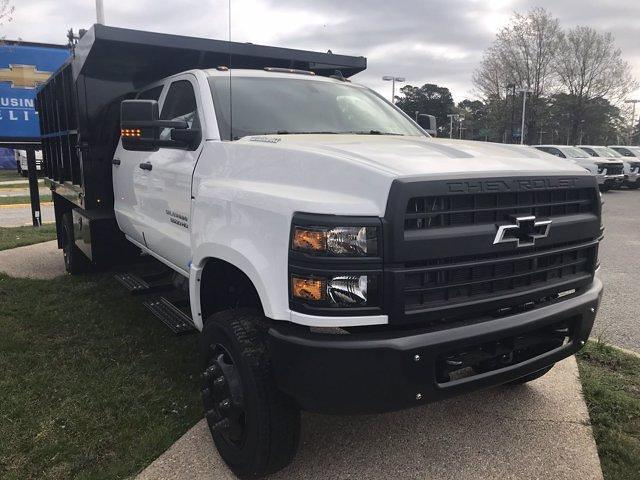 2021 Chevrolet Silverado 5500 Crew Cab DRW 4x4, Johnie Gregory Truck Bodies, Inc. Johnie Gregory Truck Bodies Default Landscape Dump #CN16081 - photo 9