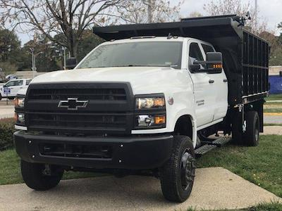2021 Chevrolet Silverado 5500 Crew Cab DRW 4x4, Johnie Gregory Truck Bodies, Inc. Johnie Gregory Truck Bodies Default Landscape Dump #CN16081 - photo 11